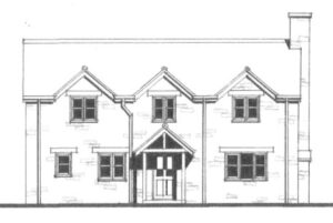 SOLD – Building Plot, The Lodge, Pink Sands Farm, Low Lane, Calne, Wiltshire, SN11 8TR.
