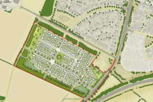 SOLD STC – Development site for 125 Residential Dwellings, Land South of The Steeds, Coxwell Road, Faringdon, Oxfordshire, SN7 7NN
